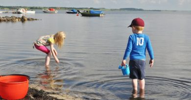 urlop z dziećmi nad wodą