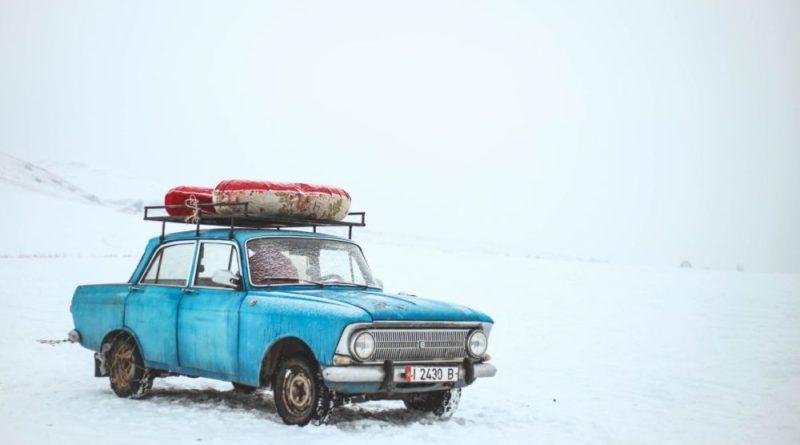 samochód przygotowanie do zimy