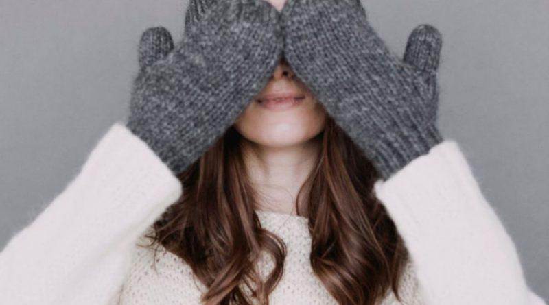 zimowa odzież moda ubrania