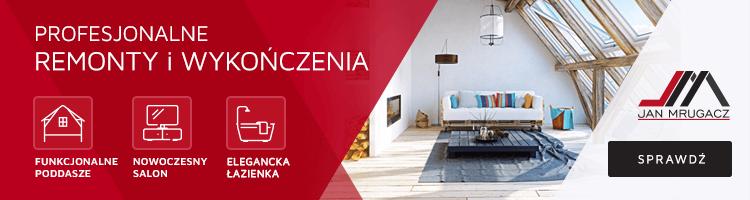 Usługi remontowe: Łazienka Kuchnia Poddasze
